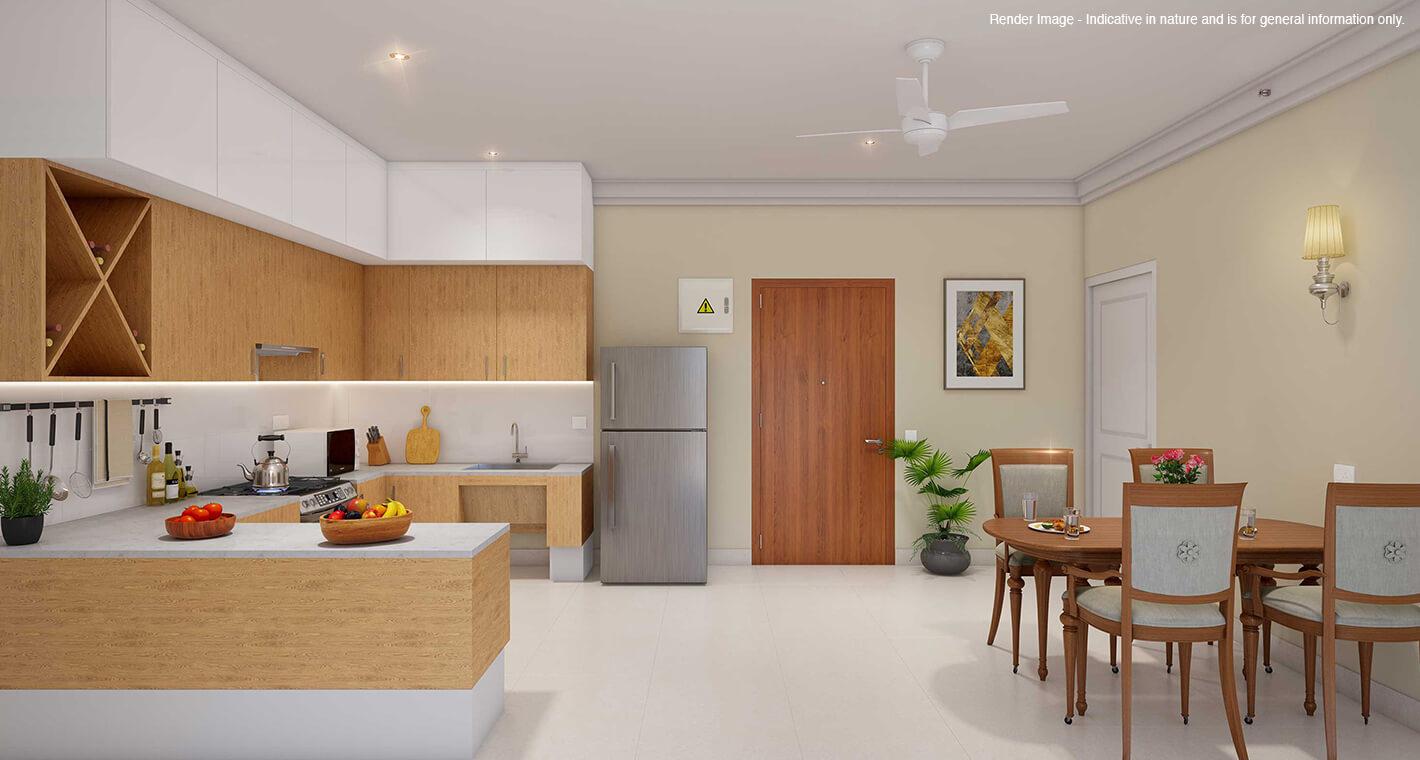 A premium senior living apartment