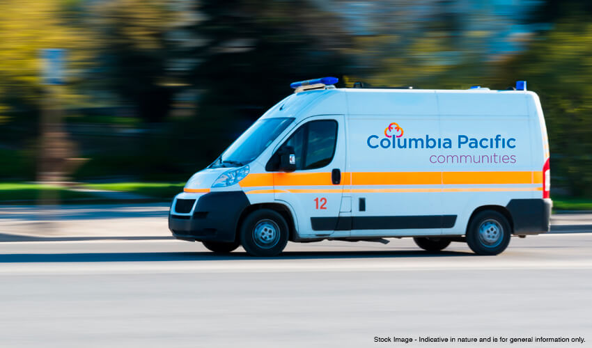 Emergency care with 24/7 ambulance service at senior living communities in India