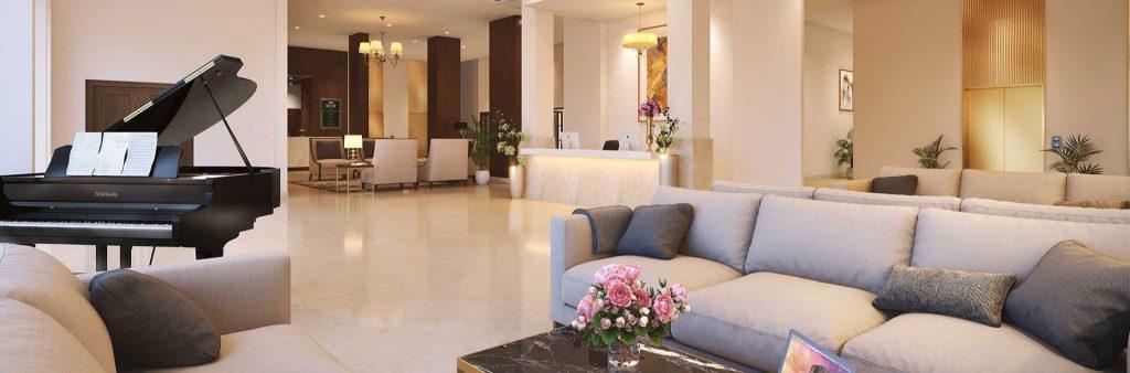 A premium senior living apartment in Bangalore