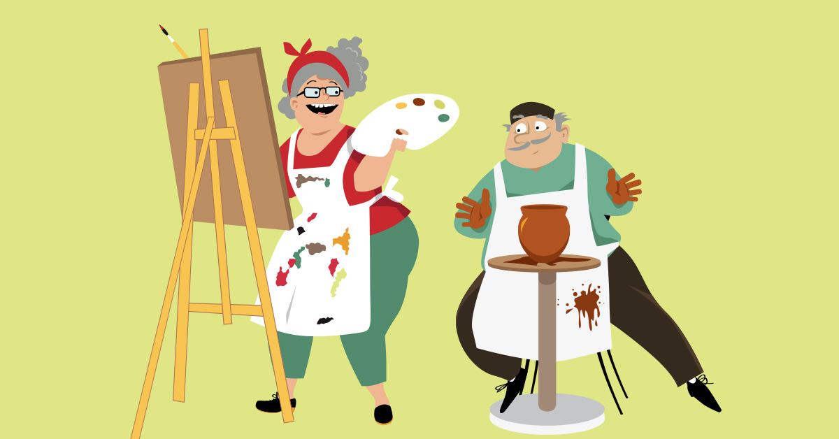 Benefits of Art Therapy for Seniors, and How The Best Rated Senior Living Communities are Encouraging Their Residents to Participate in Artistic Activities?