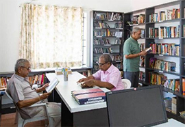 Wi-Fi-enabled library with computer facilities